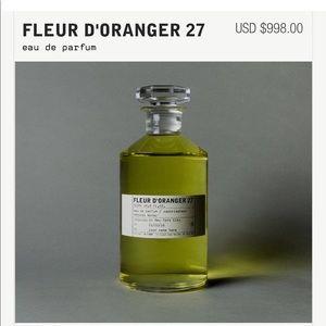 X7 Le Labo Fleur d'oranger 27 samples